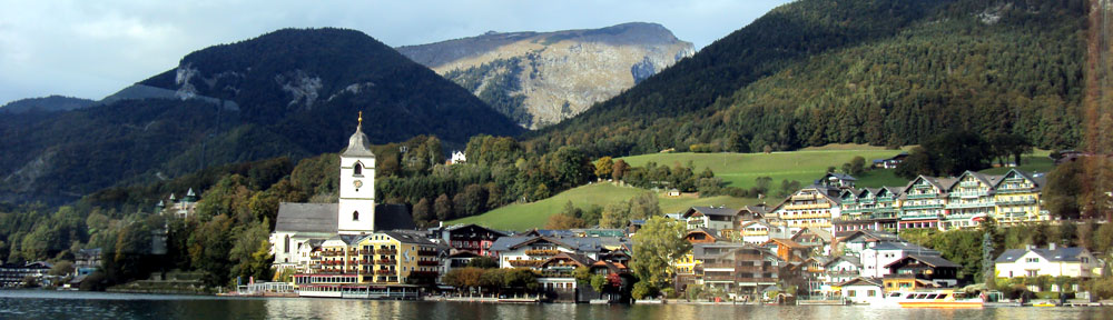 Ausflugsziele in den Alpen