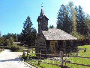 Brunnbauernkapelle im Salzburger Freilichtmuseum in Großgmain